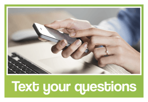 Text your Questions to Contact Us