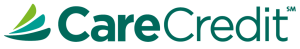 CareCredit logo which helps you obtain necessary dental treatment by your dentist in Lincoln, NE
