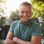 dentures nebraska family dentistry lincoln NE mature man