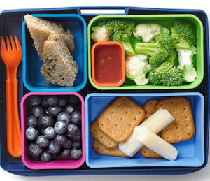 Healthy School Lunch Low sugar content by pediatric dentist Lincoln NE