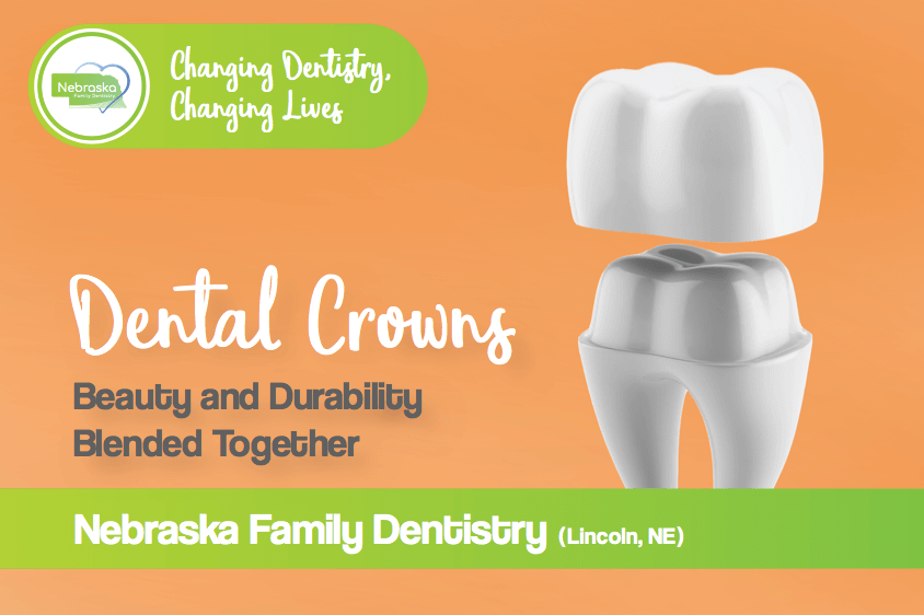 dental crowns banner by gentle dentist in Lincoln, NE