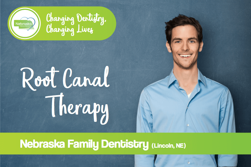 root canal therapy banner from gentle dentist in Lincoln, NE endodontist vs dentist