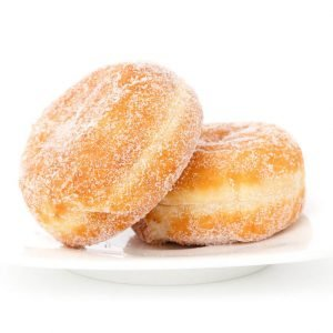 Image of doughnuts covered in sugar which as explained by your Lincoln, NE biological dentist can be bad for you.