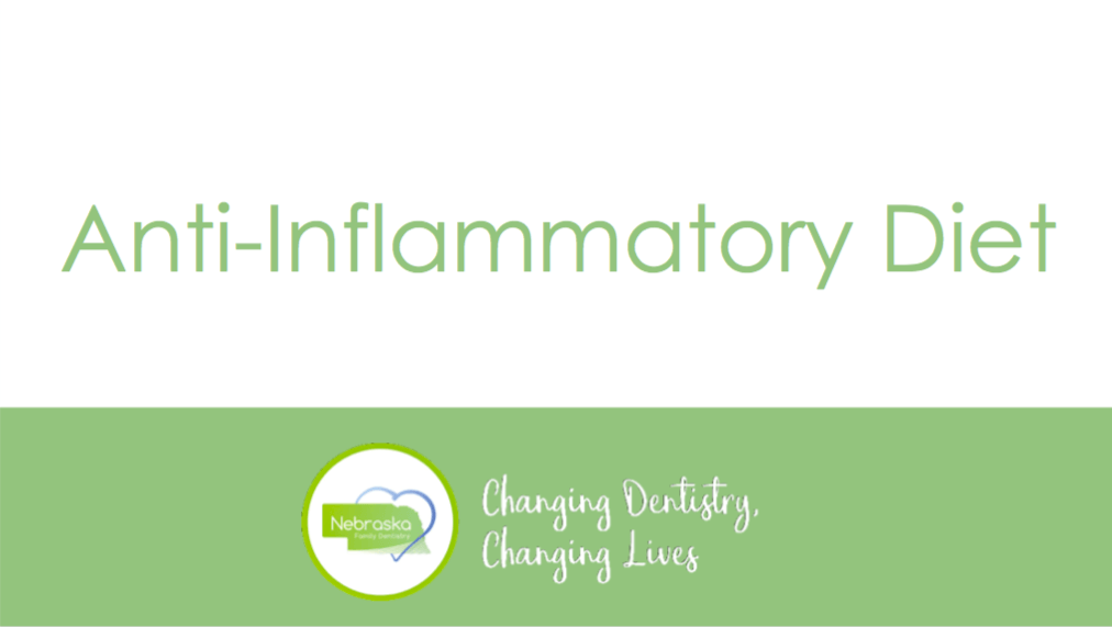 An Anti-Inflammatory Diet presentation for community health events
