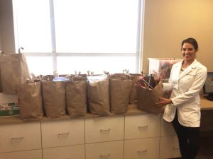 Image of one of our candy buy backs with our children's dentist in Lincoln, NE.