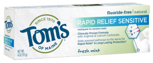 Toms of maine for sensitive teeth