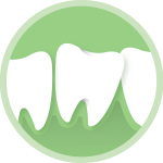 shape of teeth icon
