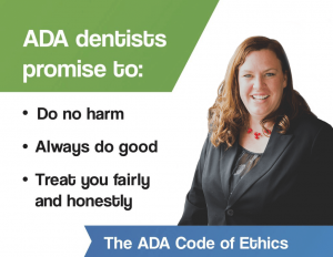 Dr. Kelly's ADA code of ethics