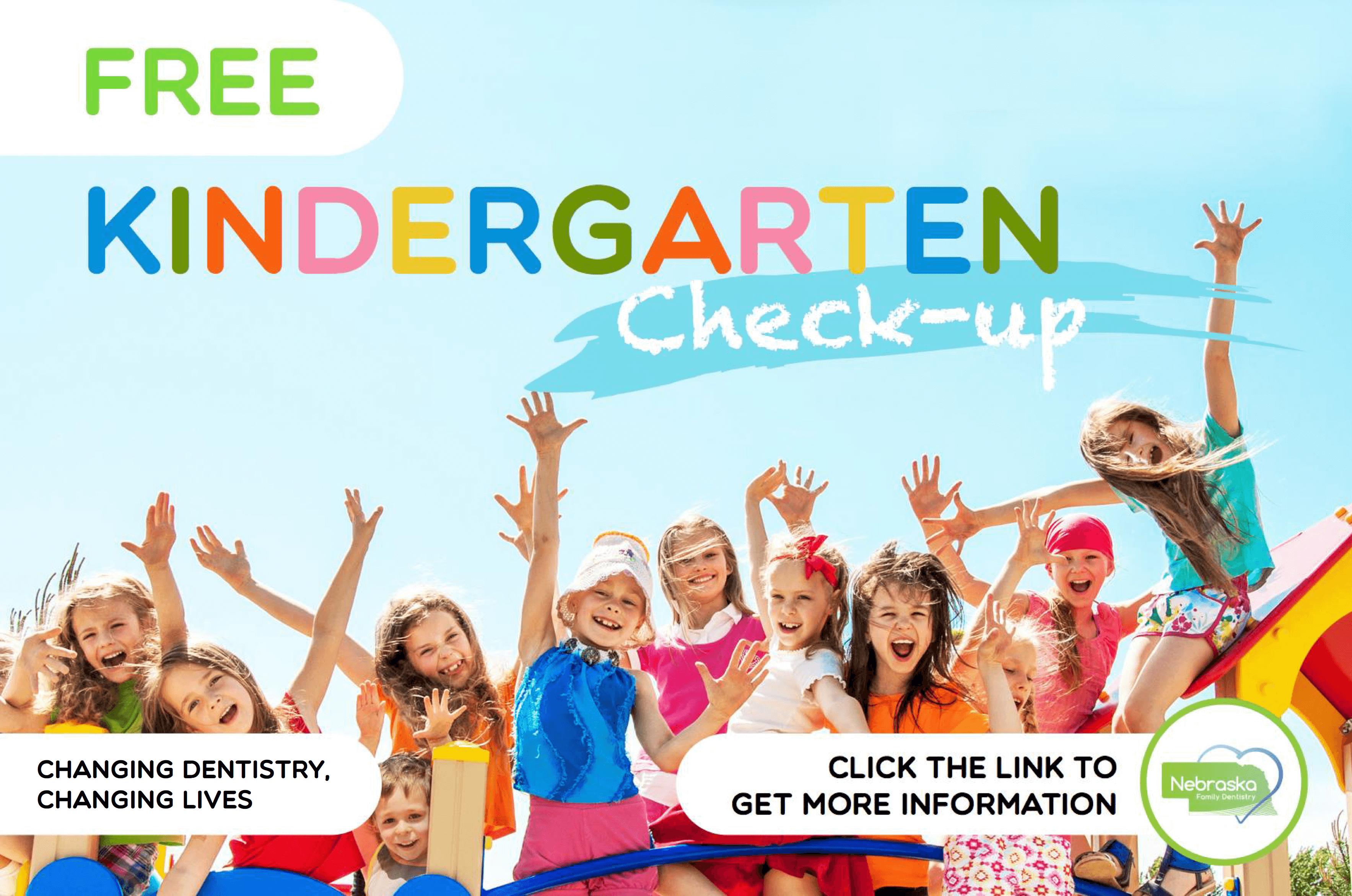 free kindergarden dental checks for health events Lincoln NE