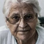 Elderly woman example for dental emergencies for seniors in Lincoln, NE