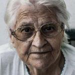 Elderly woman example for dental emergencies for seniors in Lincoln, NE