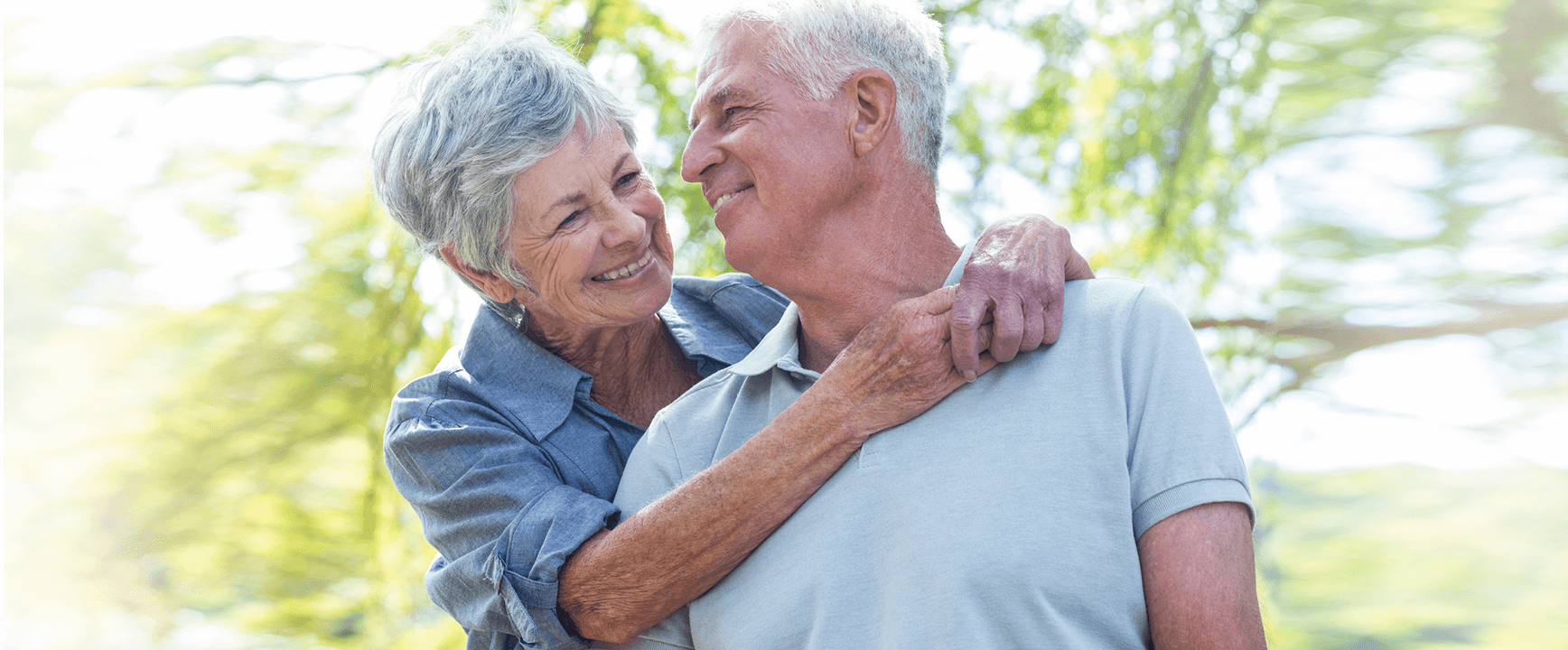 elderly couple image for oral hygiene in the elderly in Lincoln, NE