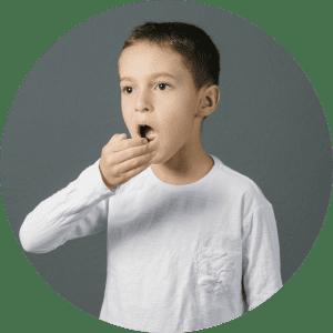 Lincoln Dentist for Children scenario of child with bad breath