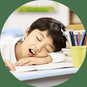 Lincoln Dentist for Children scenario of a snoring child