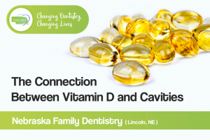 connected between vitamin d and cavities