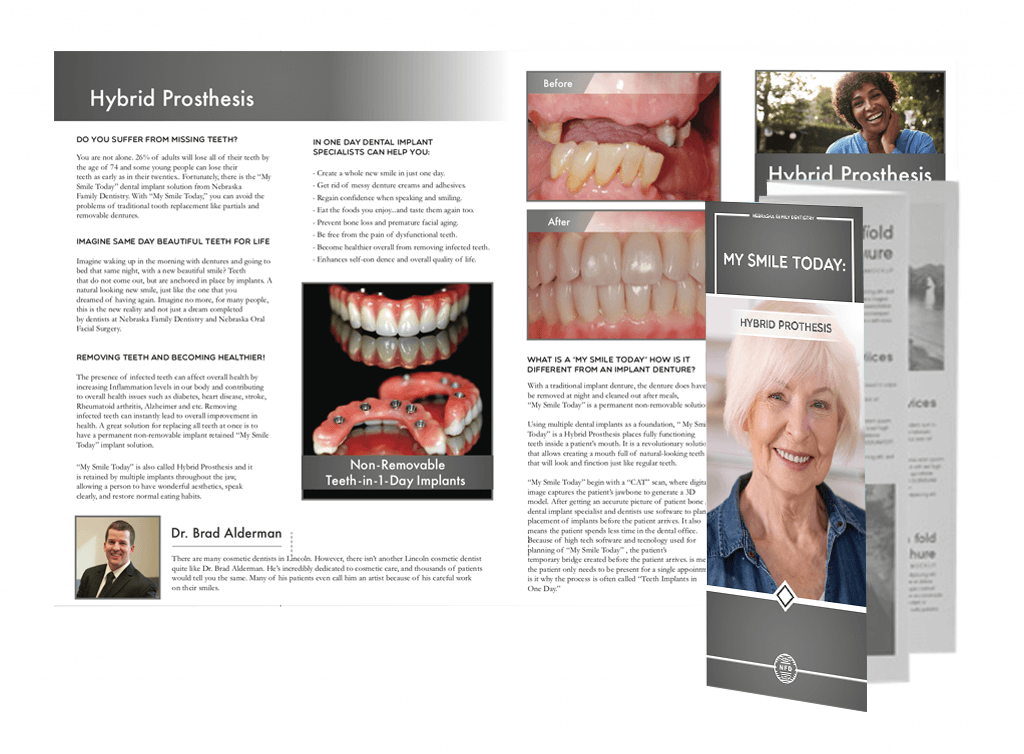 brochure nebraska family dentistry my smile day
