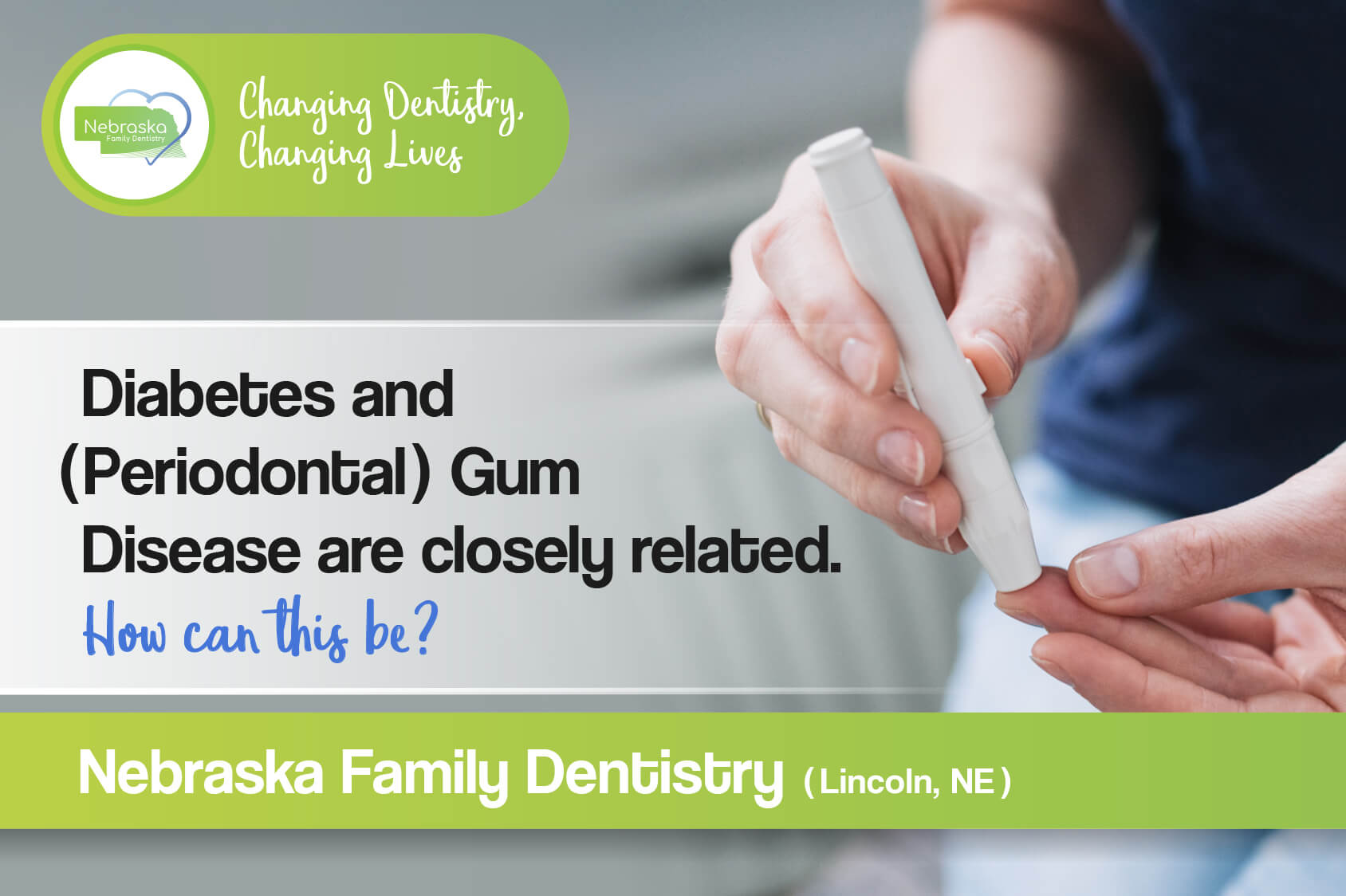 diabetes and periodontal gum disease are closely related