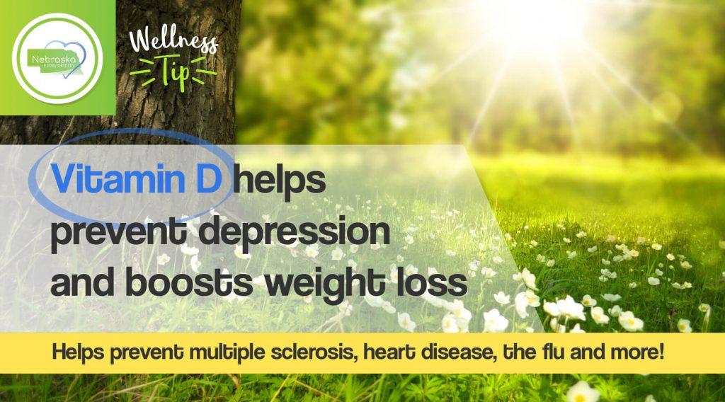 wellness tip vitamin D for Wellness program in dentistry