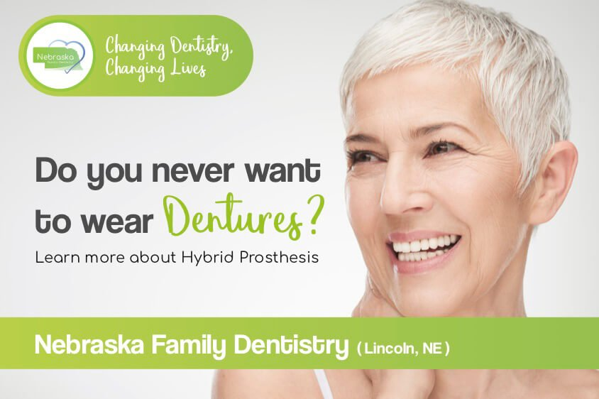 do you never want to wear dentiures