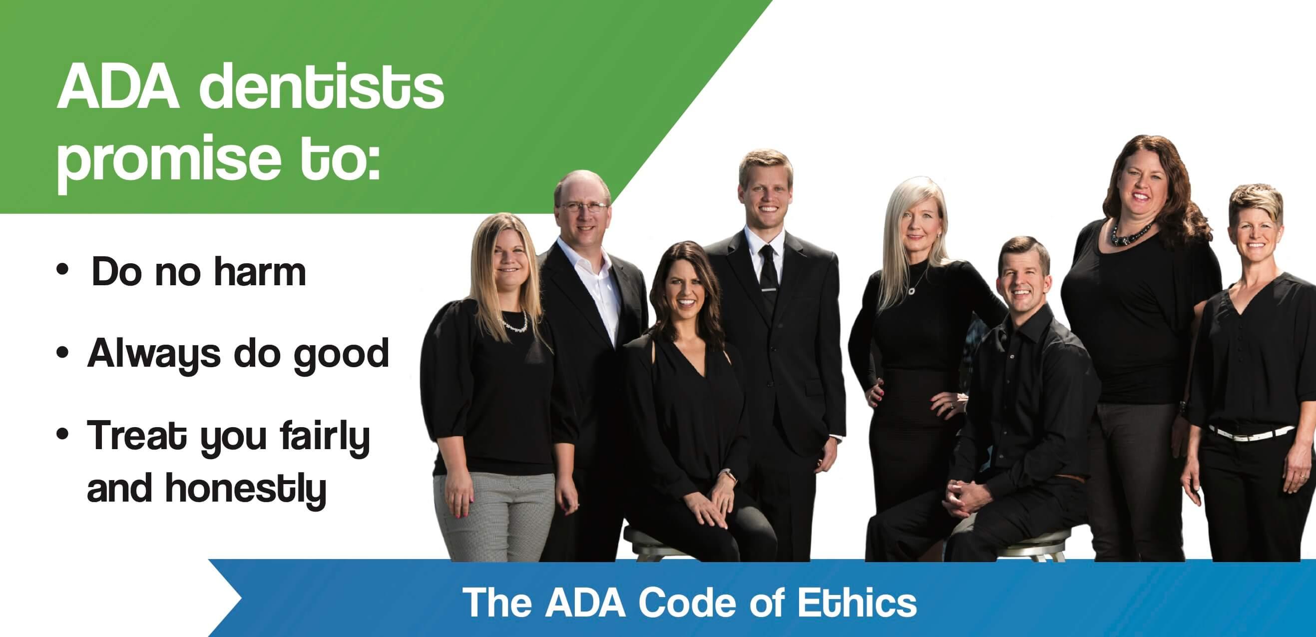 ada code of ethics nfd team