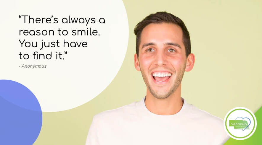 cosmetic dentist Lincoln, NE near me smile quotes