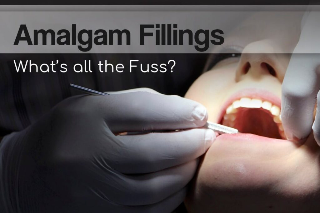 "Image asking ""Amalgam fillings/Mercury fillings, what's all the fuss?"