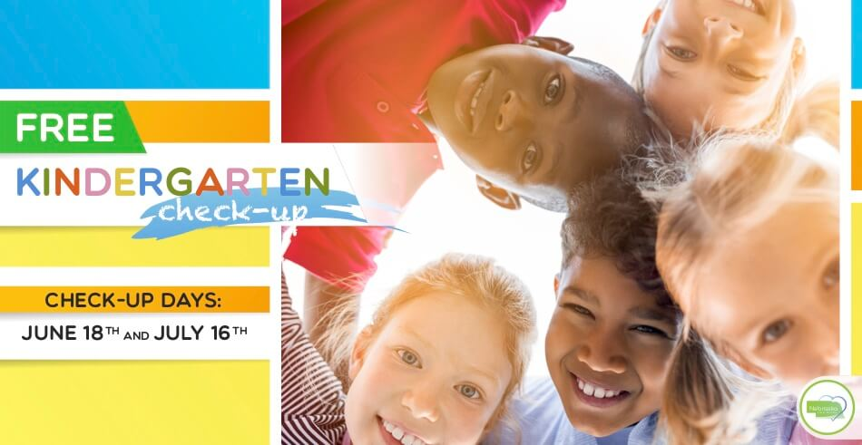 free kindergarten check up 2019