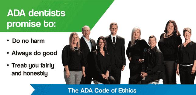 ada team code of ethics