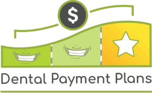 Image of the dental payment plans logo from Coddington Dental in Lincoln, NE. Payment plans can help make services such as implant dentures very affordable.
