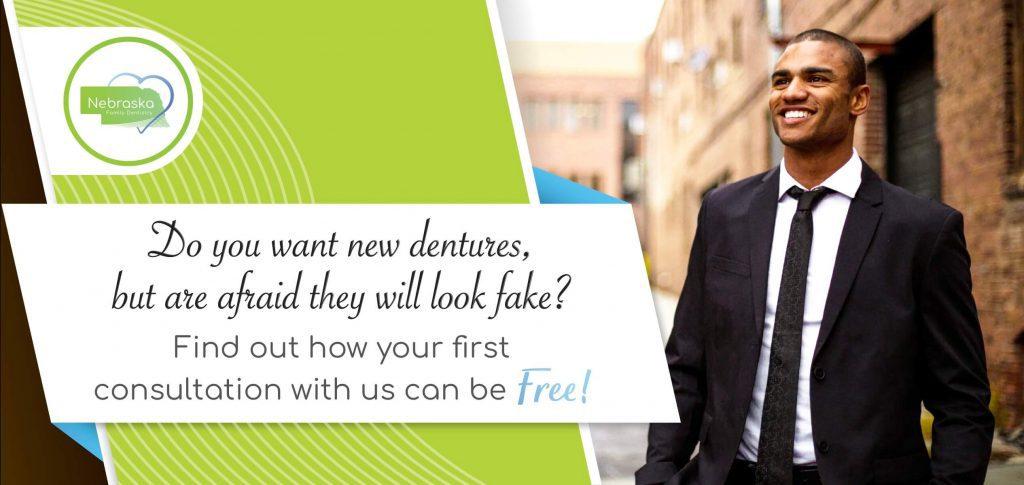 Cosmetic dental care consultation.