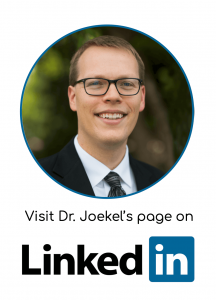 LInkedin of Dr. Joekel's dental location