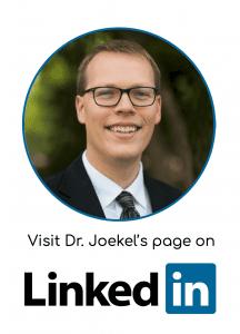 LInkedin of Dr. Joekel's dental location